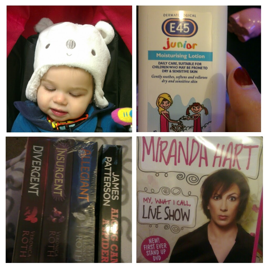 Pointless Post – books and baby bits.