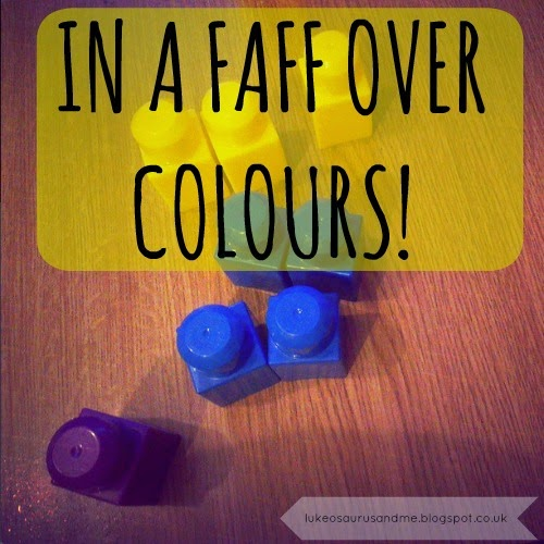 In A Faff Over Colours!