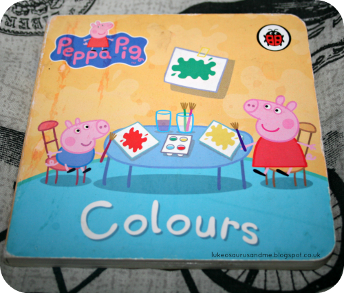 Peppa Pig Colour Book, 3 Top Books We Have Been Using To Learn About Colour from lukeosaurusandme.co.uk