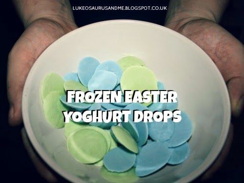 Frozen Easter Yoghurt Drops Recipe