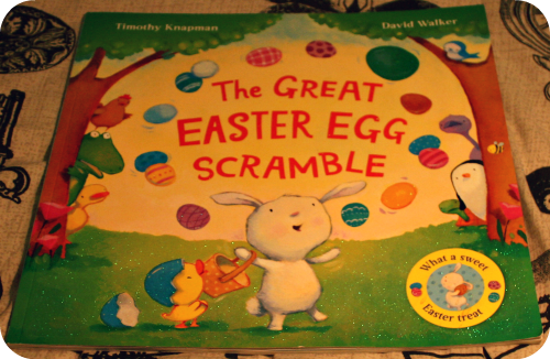 Easter Activities For Toddlers. Easter Books - The Great Easter Egg Scramble from lukeosaurusandme.co.uk