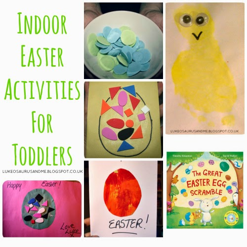 Indoor Easter Activities For Toddlers