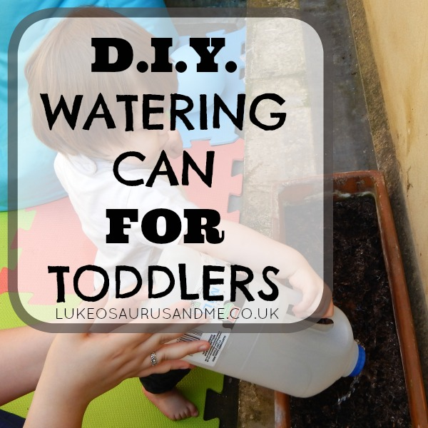 DIY Watering Can For Toddlers
