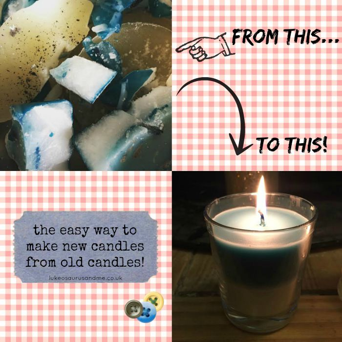 How To: The Easy Way To Make New Candles From Old Candles ...
