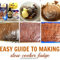 Easy Guide To Making Slow Cooker Chocolate And Vanilla Fudge. Slow Cooker sweets the easy way by lukeosaurusandme.co.uk