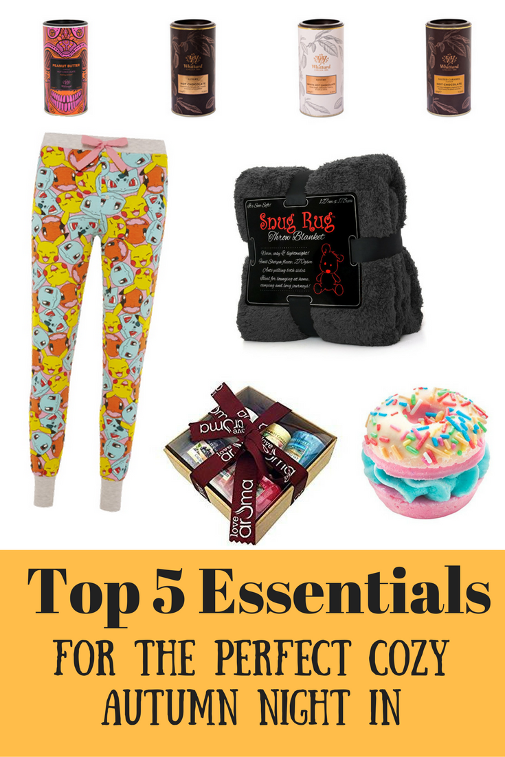 Top 5 Essentials For The Perfect Cozy Autumn Night In at http://lukeosaurusandme.co.uk