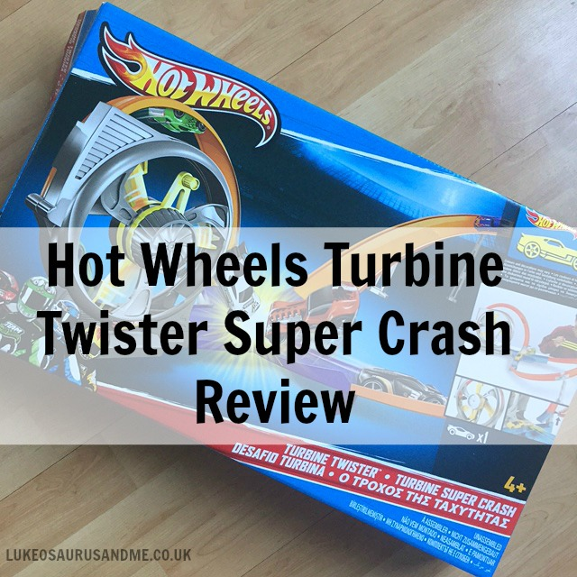 Hot Wheels Turbine Twister toy review at http://lukeosaurusandme.co.uk