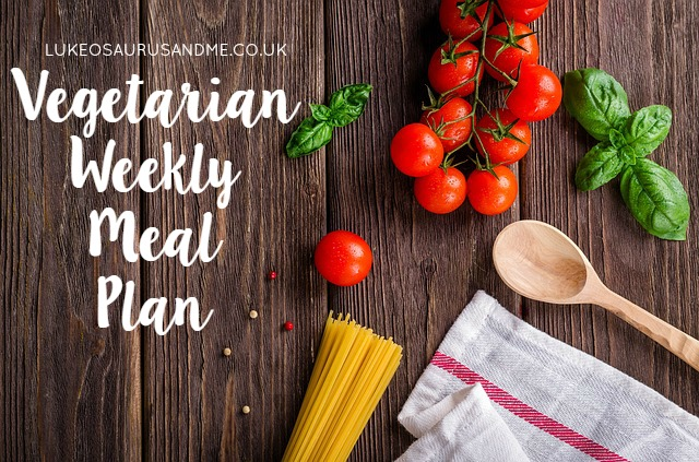 Budget Vegetarian Weekly Meal Planning at http://lukeosaurusandme.co.uk