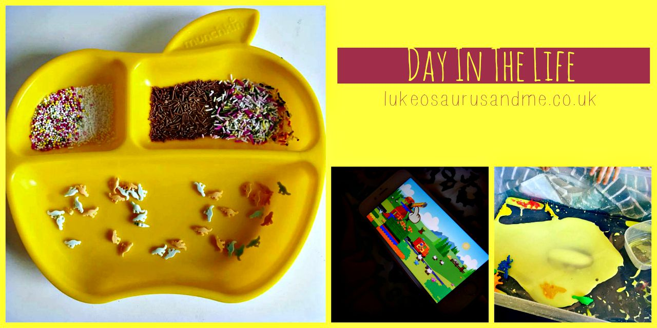 DITL Puzzles and Baking from lukeosaurusandme.co.uk