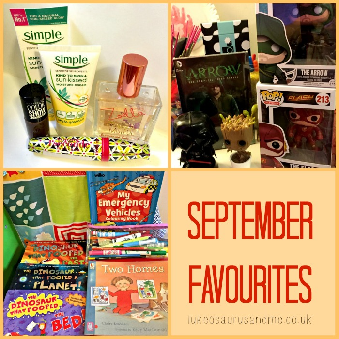 September Favourites, including beauty, toddler books, and pop vinyls by lukeosaurusandme.co.uk