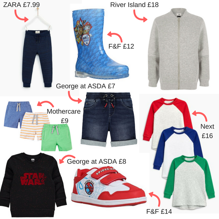 Boy's Spring/Summer Clothes Wishlist 2018 at https://lukeosaurusandme.co.uk