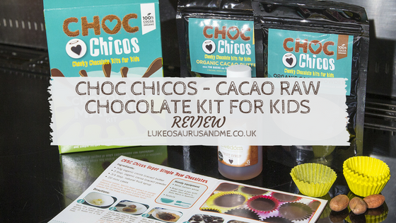 Choc Chicos – Cacao Raw Chocolate Kit For Kids review at https://lukeosaurusandme.co.uk
