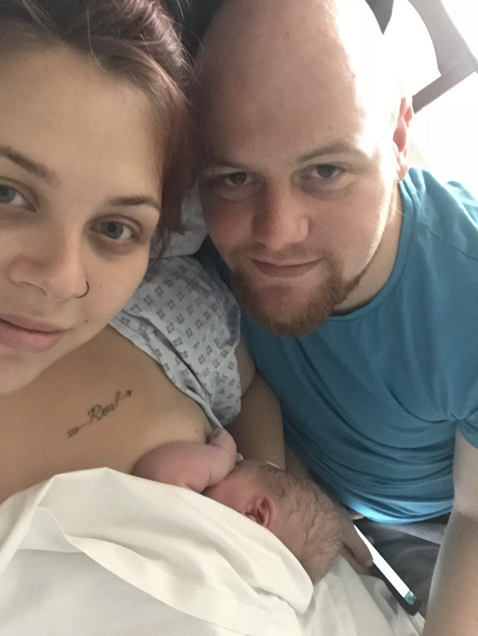 Baby's first week at home at https://lukeosaurusandme.co.uk