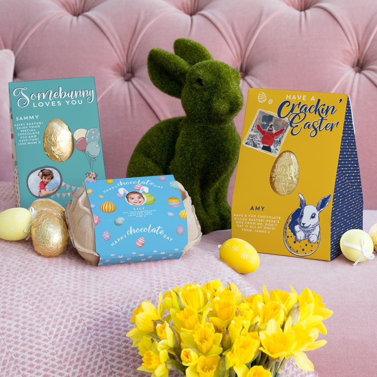 Vanilla Reindeer Easter Eggs and Six-Egg Box at https://lukeosaurusandme.co.uk