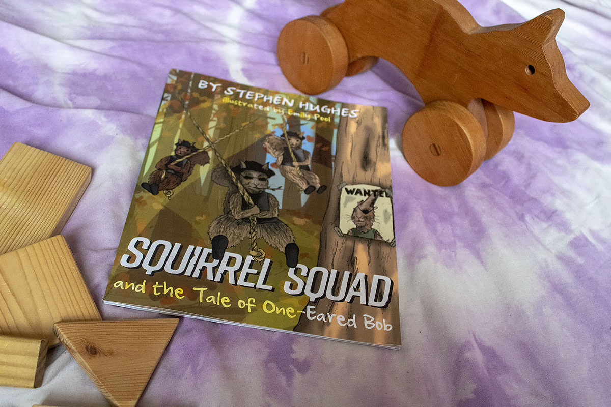 Squirrel Squad and the Tale Of One-Eared Bob children's book review at https://lukeosaurusandme.co.uk