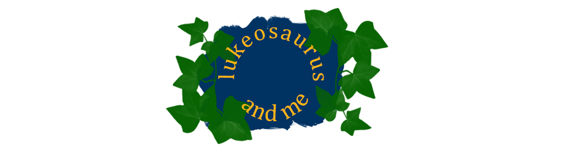Lukeosaurus And Me