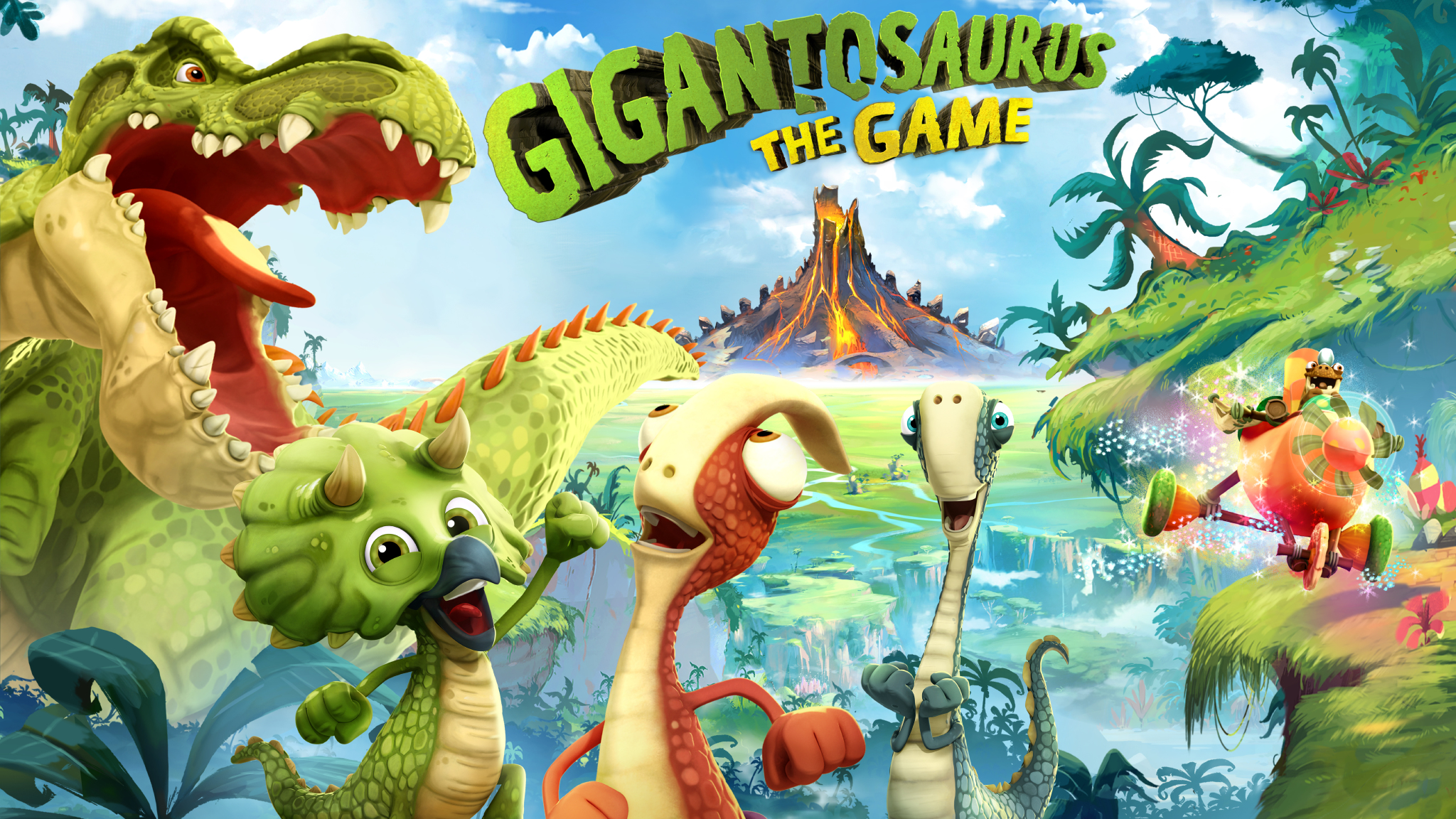 Gigantosaurus: The Game artwork